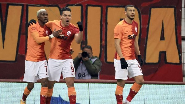 Falcao marca su sexto gol con Galatasaray en la temporada