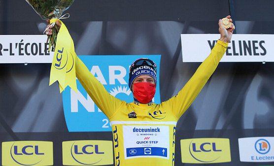 Sam Bennett, primer maillot amarillo de la París-Niza 2021
